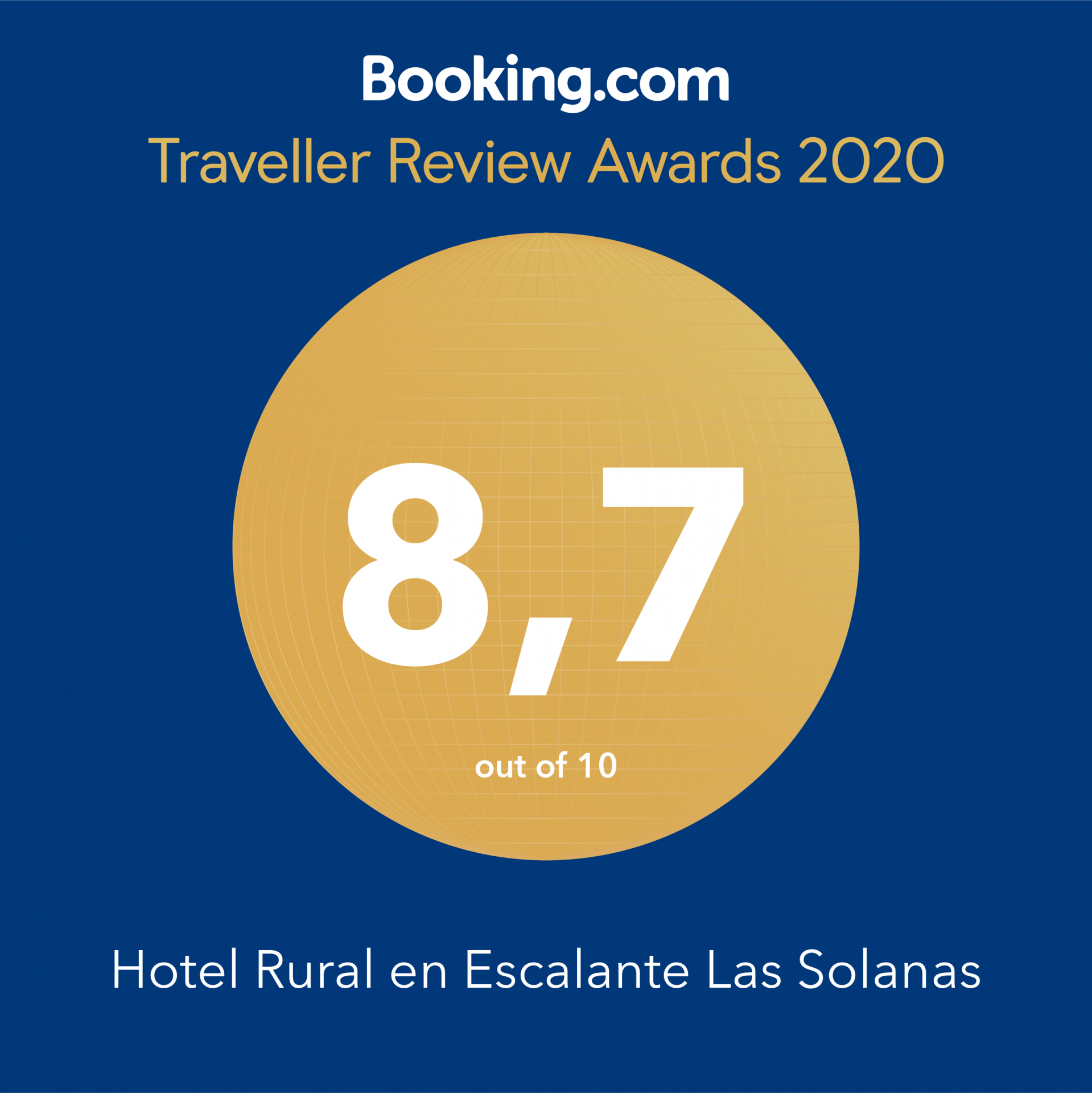 Hoteles rurales Cantabria award Booking